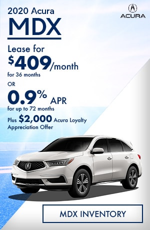 August 2020 Acura MDX