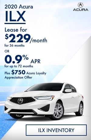 August 2020 Acura ILX
