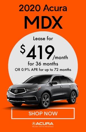 January 2020 Acura MDX