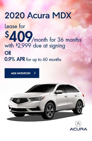 May 2020 Acura MDX