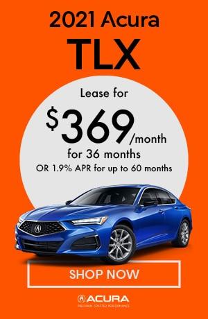 January 2021 Acura TLX
