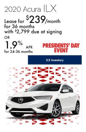 February 2020 Acura ILX