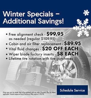 Additional Savings on Winter Services