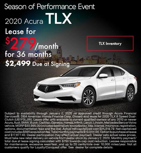 November 2020 Acura TLX