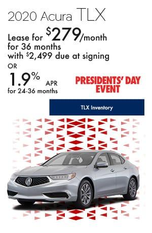 February 2020 Acura TLX