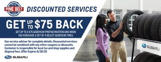 Get Up To $75 Back On Select Goodyear Tires