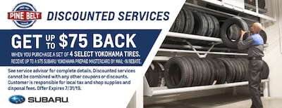 Up to $80 Back With Purchase of Tire Set