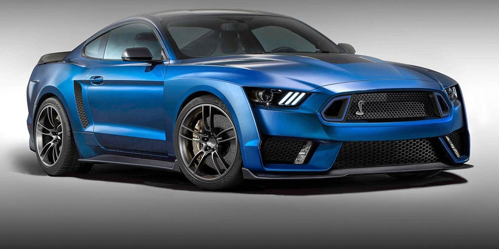 Ford Sends the 2018 Mustang Into the Future