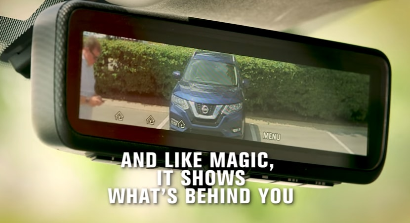 Nissan Intelligent Rear View Mirror
