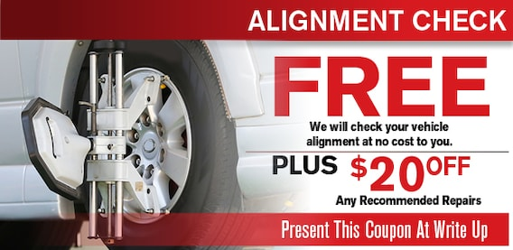 Wheel Alignment Car Truck Service Coupon Wheel Alignment