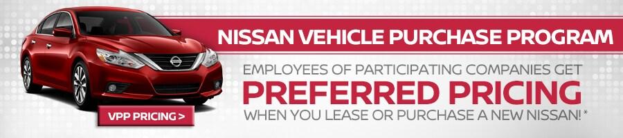 Vehicle Purchase Program   Nissan Employee Pricing   Scottsdale AZ