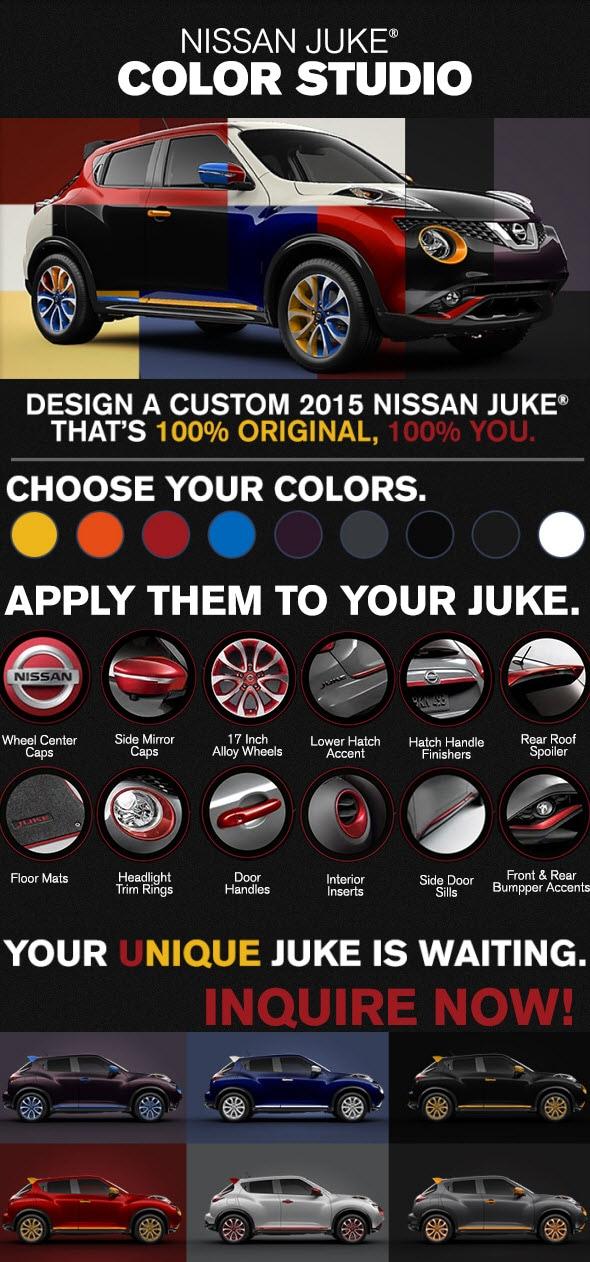 Customize Your Juke With Juke Color Studio at Pinnacle Nissan