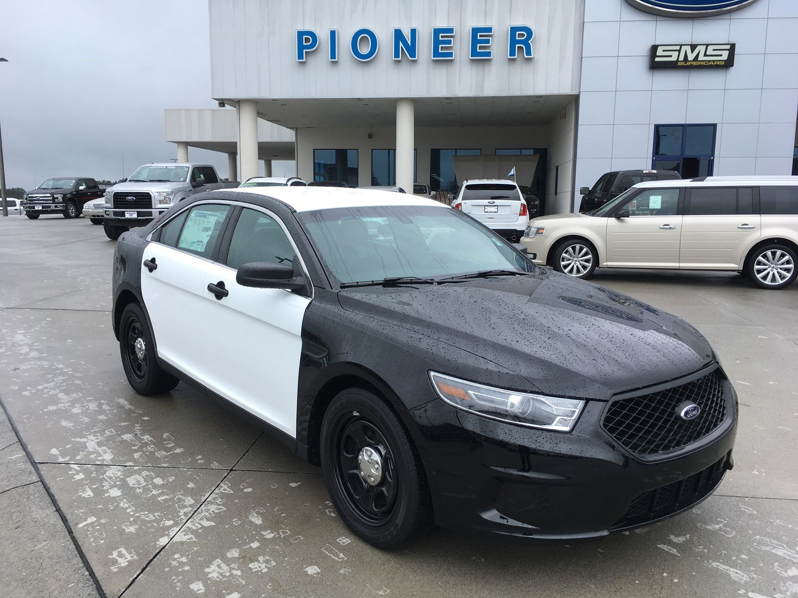 2016 Ford Sedan Police Interceptor Sedan