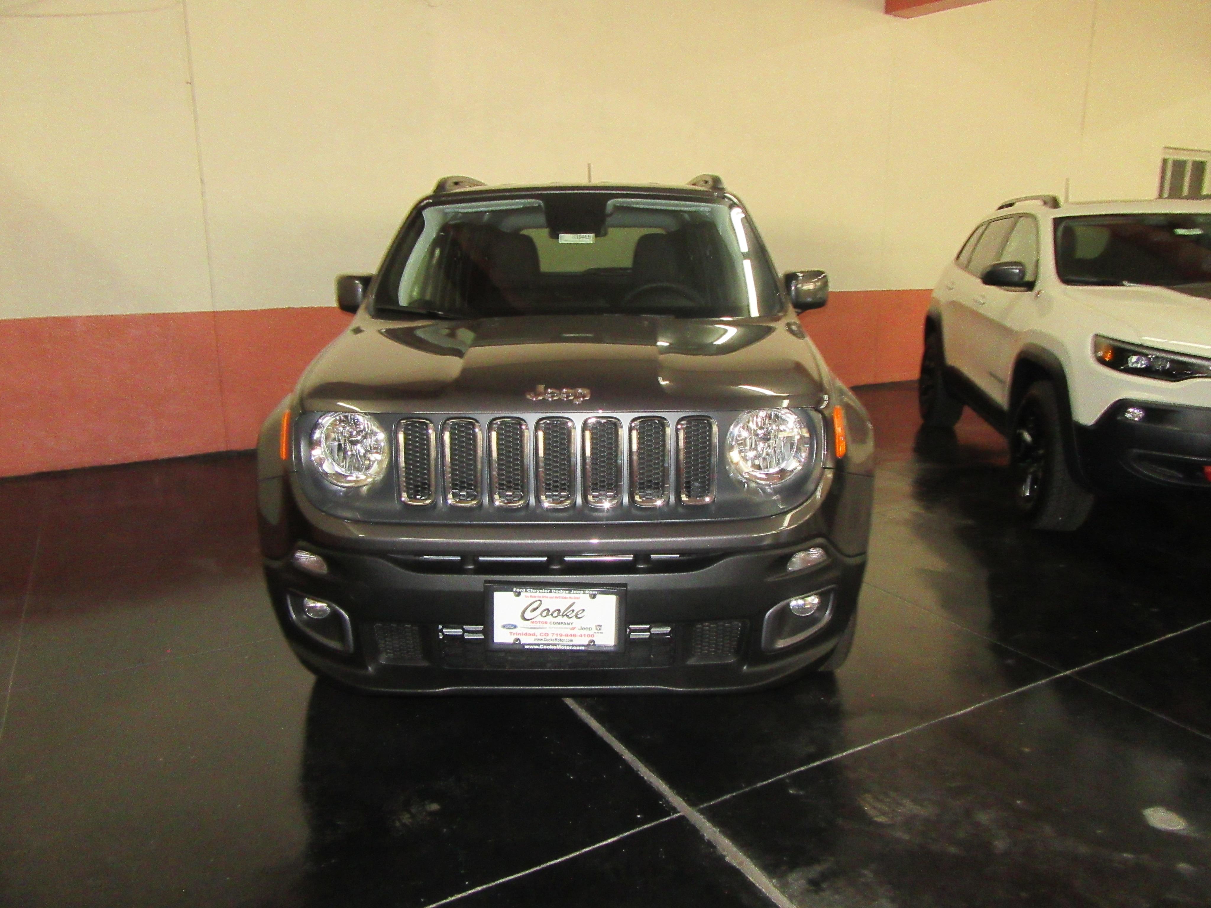 New 2018 Jeep Renegade LATITUDE 4X4 For Sale in Trinidad CO | ZACCJBBB5JPH00807 | Serving Walsenburg, Alamosa, Raton NM and Pueblo