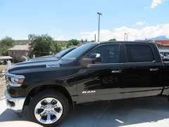 New 2019 Ram 1500 BIG HORN / LONE STAR CREW CAB 4X4 5'7 BOX Crew Cab 1C6SRFFT1KN531594 for sale in Trinidad, Co at Cooke Motor Company