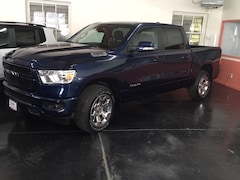 New 2019 Ram 1500 BIG HORN / LONE STAR CREW CAB 4X4 5'7 BOX Crew Cab 1C6SRFFT6KN636972 for sale in Trinidad, Co at Cooke Motor Company