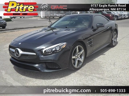 Featured Used 2017 Mercedes-Benz SL SL 550 Convertible for sale near you in Albuquerque, NM