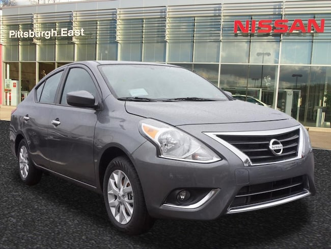 New 2018 Nissan Versa 1.6 SV Sedan For Sale/Lease Pittsburgh, PA