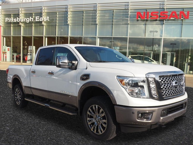 New 2018 Nissan Titan XD Platinum Reserve Gas Truck Crew Cab For Sale/Lease Pittsburgh, PA