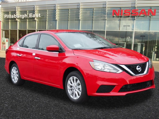 New 2018 Nissan Sentra SV Sedan For Sale/Lease Pittsburgh, PA