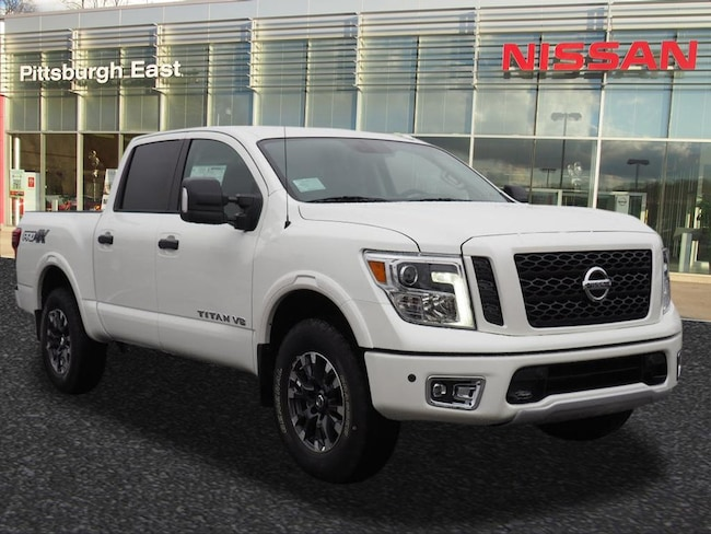 New 2018 Nissan Titan PRO-4X Truck Crew Cab For Sale/Lease Pittsburgh, PA