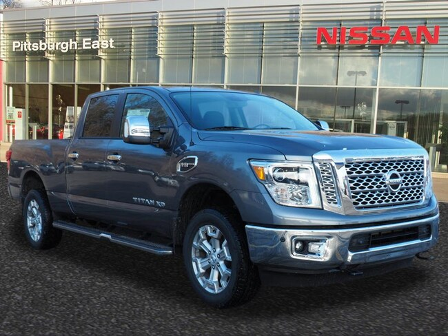 New 2018 Nissan Titan XD SL Gas Truck Crew Cab For Sale/Lease Pittsburgh, PA