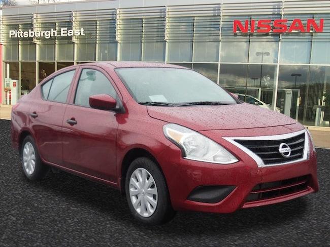 New 2018 Nissan Versa 1.6 S+ Sedan For Sale/Lease Pittsburgh, PA