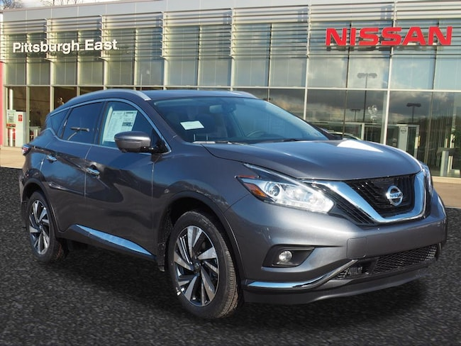 New 2018 Nissan Murano Platinum SUV For Sale/Lease Pittsburgh, PA