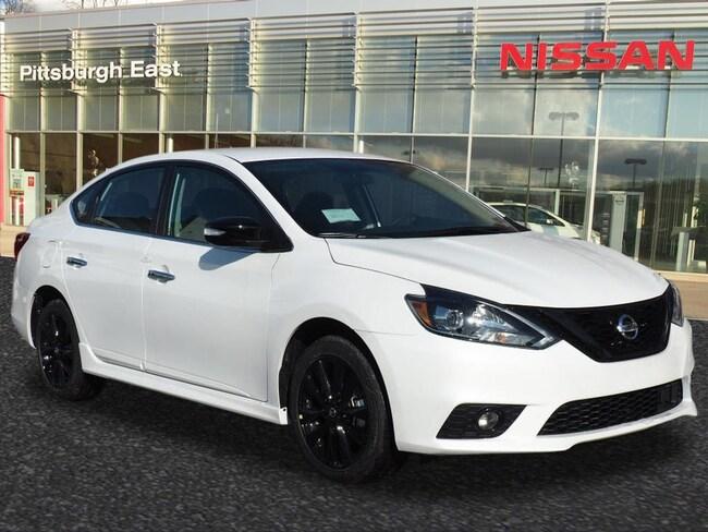 New 2018 Nissan Sentra SR Sedan For Sale/Lease Pittsburgh, PA