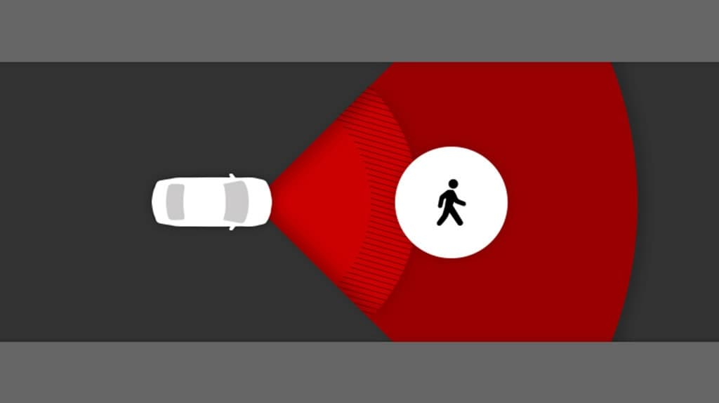 Pitts Toyota in Dublin NC Pre-Collision System With Pedestrian Detection Function (PCS w/PD)