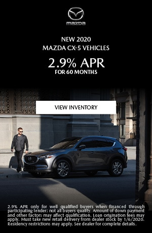 December New 2020 Mazda CX-5 Vehicles Finance Offer
