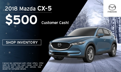 2018 mazda CX-5 Customer Cash