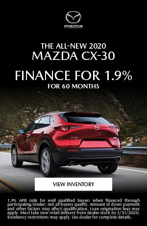 March All-New 2020 Mazda CX-30 Finance Offer