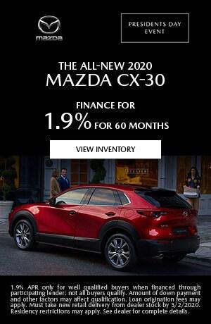February The All-New 2020 Mazda CX-30