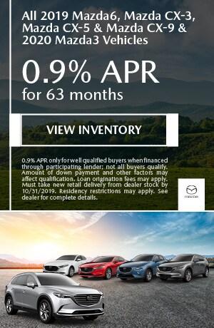 October 0.9% APR for 63 months Offer