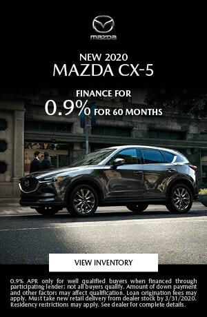 March New 2020 Mazda CX-5 Finance Offer