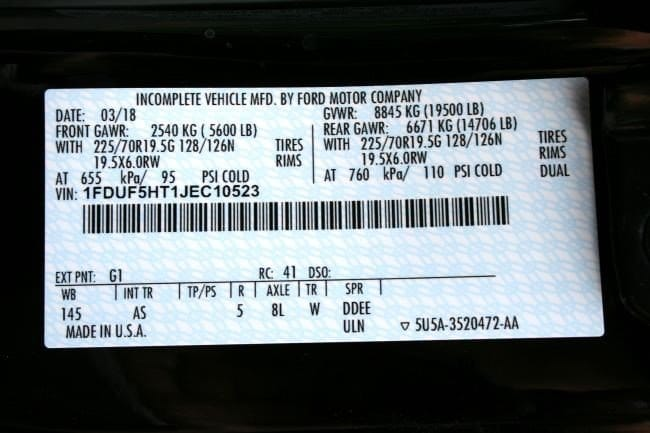 New 2018 Ford F-550 Chis For Sale at Place Motor Inc. | VIN ...  Wire Trailer Wiring Diagram Ford on 4 wire trailer brake, wilson trailer parts diagram, 3 wire circuit diagram, 4 wire electrical diagram, 4 wire trailer hitch diagram, 4 wire trailer lighting,