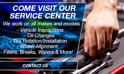 Come Visit Our Service Center