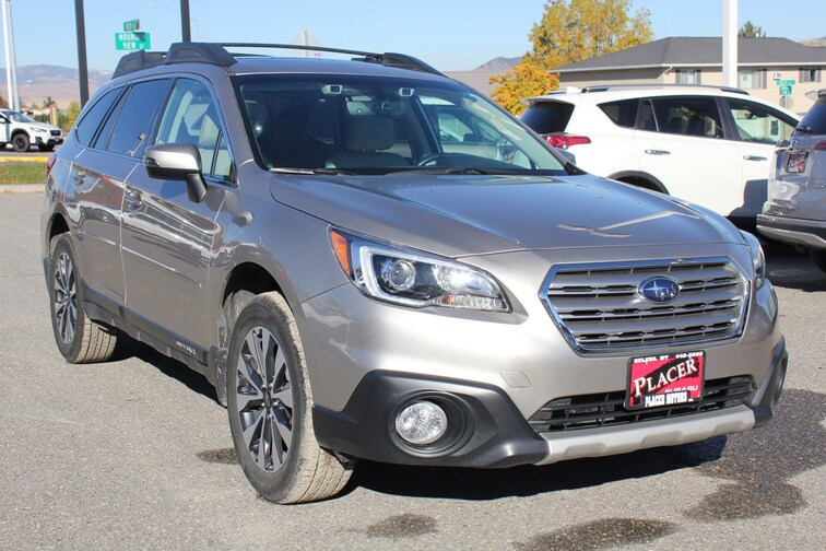 used 2017 subaru outback limited with for sale in. Black Bedroom Furniture Sets. Home Design Ideas