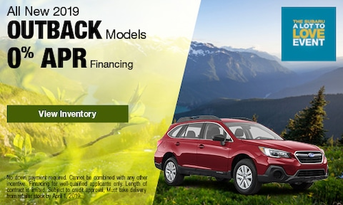 March 2019 Outback Finance Offer