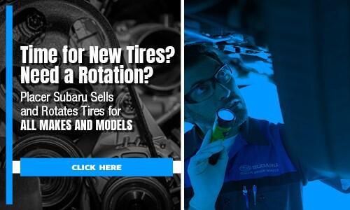 Placer Subaru Tire Center