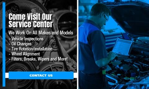 Come Visit Our Service Center