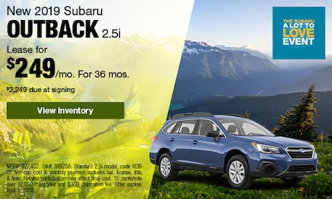 March 2019 Outback Lease Offer