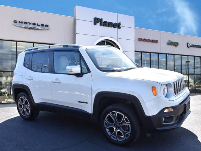 2016 Jeep Renegade 4WD  Limited SUV