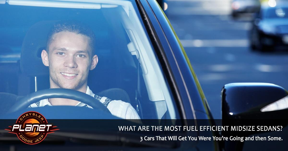 Most Fuel Efficient Sedans