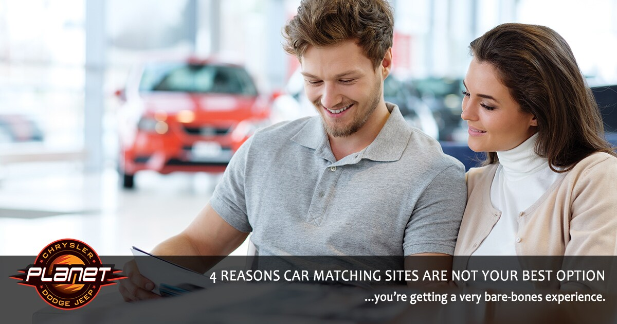 Ways Car Matching Sites Don't Stack Up