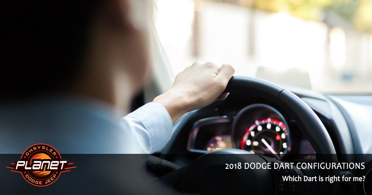 2018 Dodge Dart Configurations
