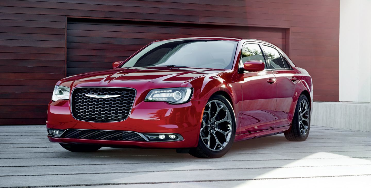 2019 Chrysler 300 in Red