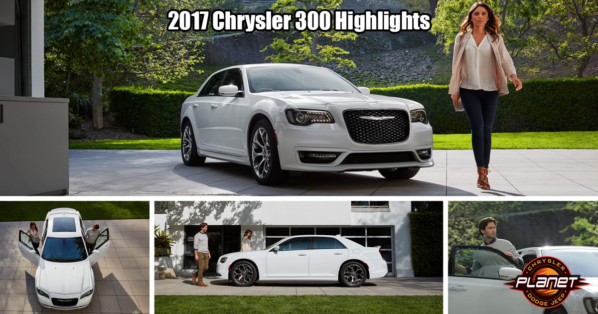 High Quality Planet Dodge 2017 Chrysler 300 Highlights