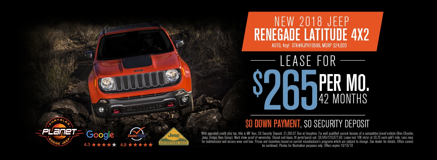 Amazing Jeep Renegade Special